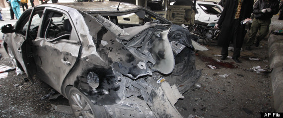 DAMASCUS CAR BOMB