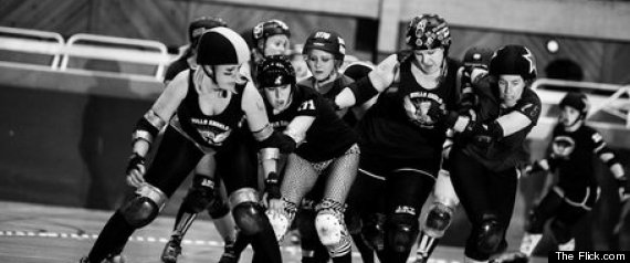Photo Of Newcastle Rollergirls By Idene