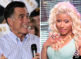 Nicki Minaj Voting Romney?