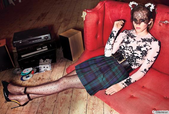 emma watson glamour