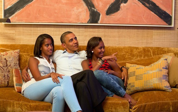 obama daughters speech