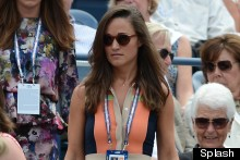 Masterpiece Or Disasterpiece: Pippa Middleton Attempts Colour Blocking At The Tennis