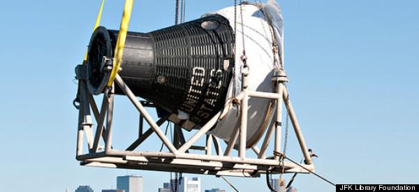 Freedom 7, NASA's First Manned Spacecraft, Lands At JFK ...