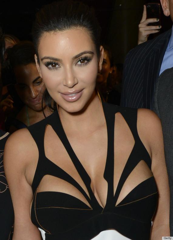 Kim Kardashian S Cleavage At Du Jour Magazine Party Is