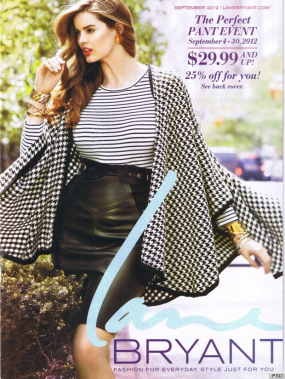 lane bryant photoshop