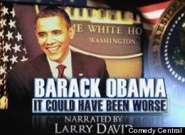 Daily Show Obama Larry David