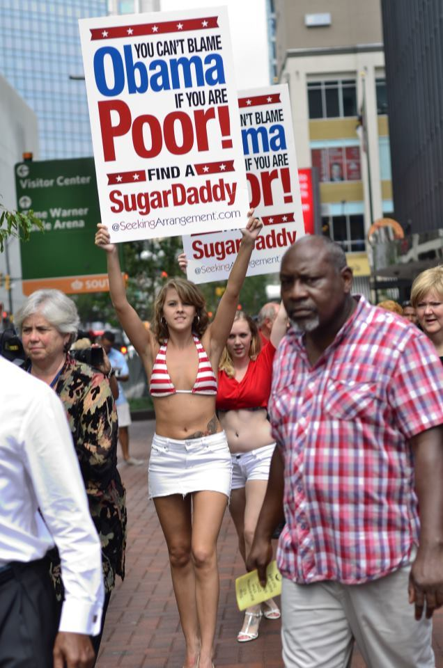 Seeking Arrangement At Dnc You Cant Blame Obama If You Are Poor