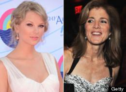 Caroline Kennedy 'Sings' Praise of Taylor Swift