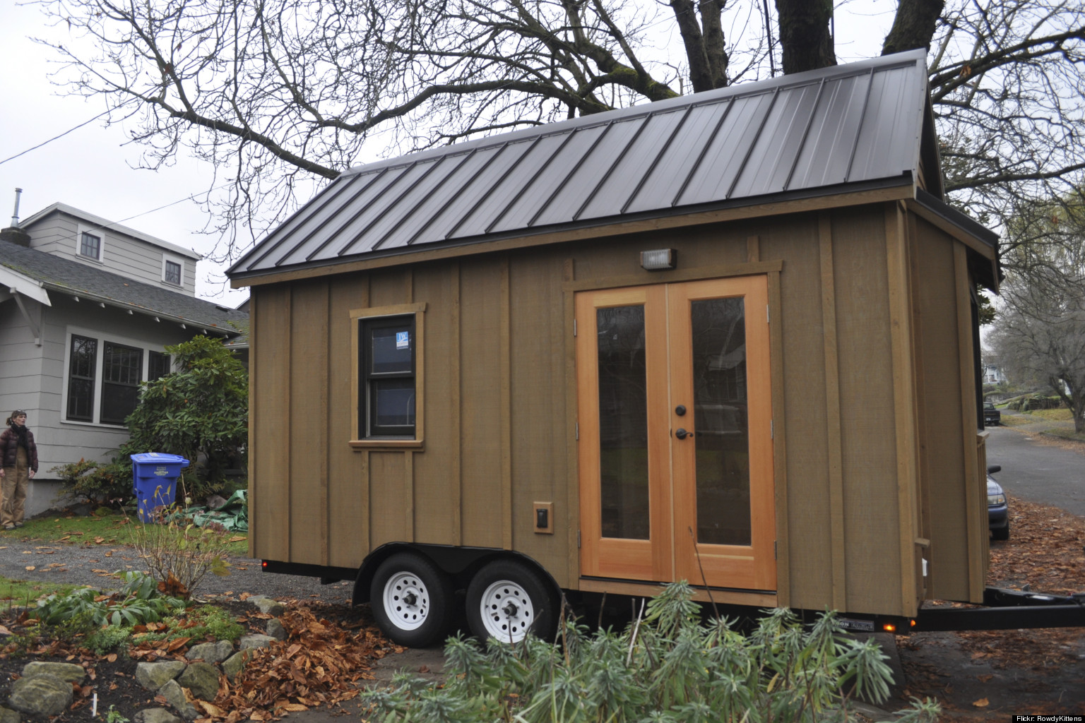 Calgary family trades in spacious home for tiny house for Tiny homes for sale canada