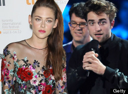 Kristen Alone On The Red Carpet, While R-Patz Joins Twilight Castmates