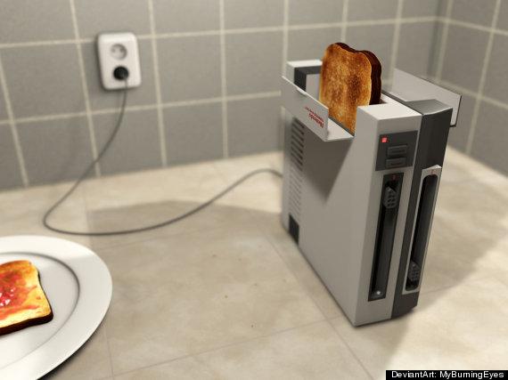 nintendo toaster