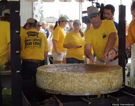 worlds largest crab cake