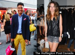 What The Fashionable Set Wore To Fashion's Night Out