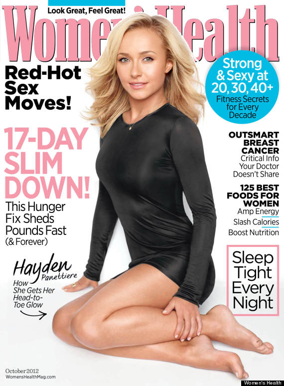 hayden panettiere womens health
