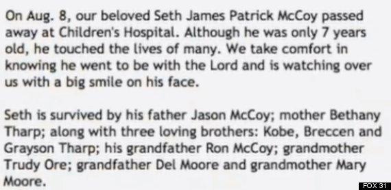 seth mccoy obituary
