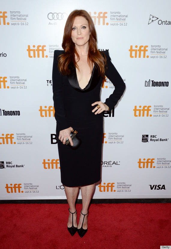 Julianne Moore Wows At Toronto Film Festival In Plunging
