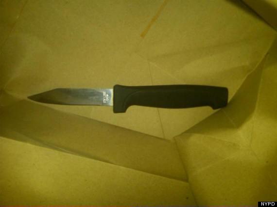 knife nypd kills man queens