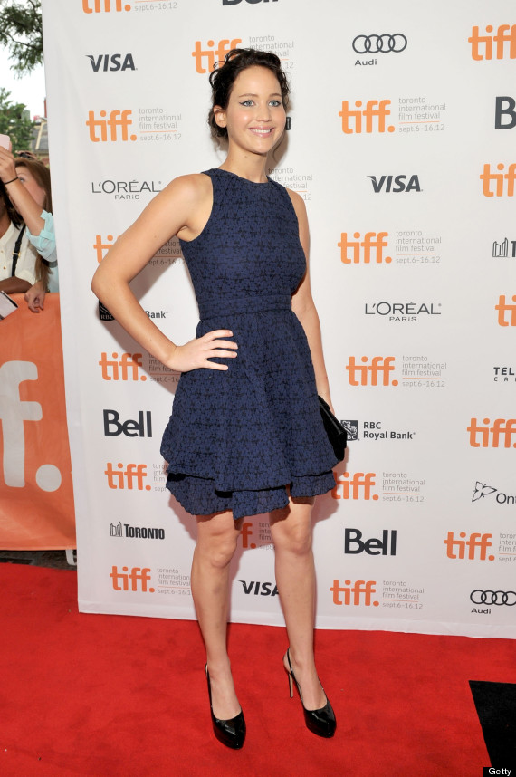 jennifer lawrence tiff 2012 blue