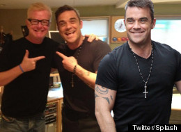 LISTEN: Robbie Williams Debuts 'Candy' On Radio 2
