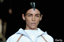 Liberty Ross' Surprise Catwalk Appearance At Alexander Wang, New York Fashion Week