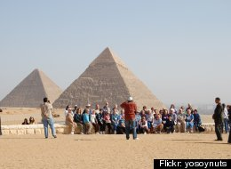 Egypt Tour Guides Protest