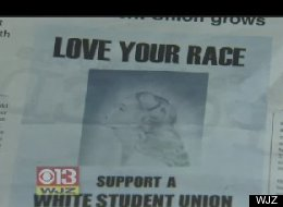 Student Tries To Start Campus White Pride Group