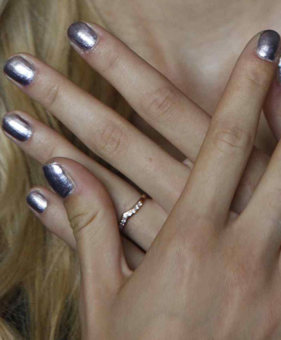 new york fashion week erin fetherston nails