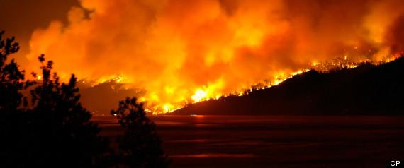 KELOWNA WILDFIRE 2003
