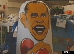 Obama Bop Punching Bag
