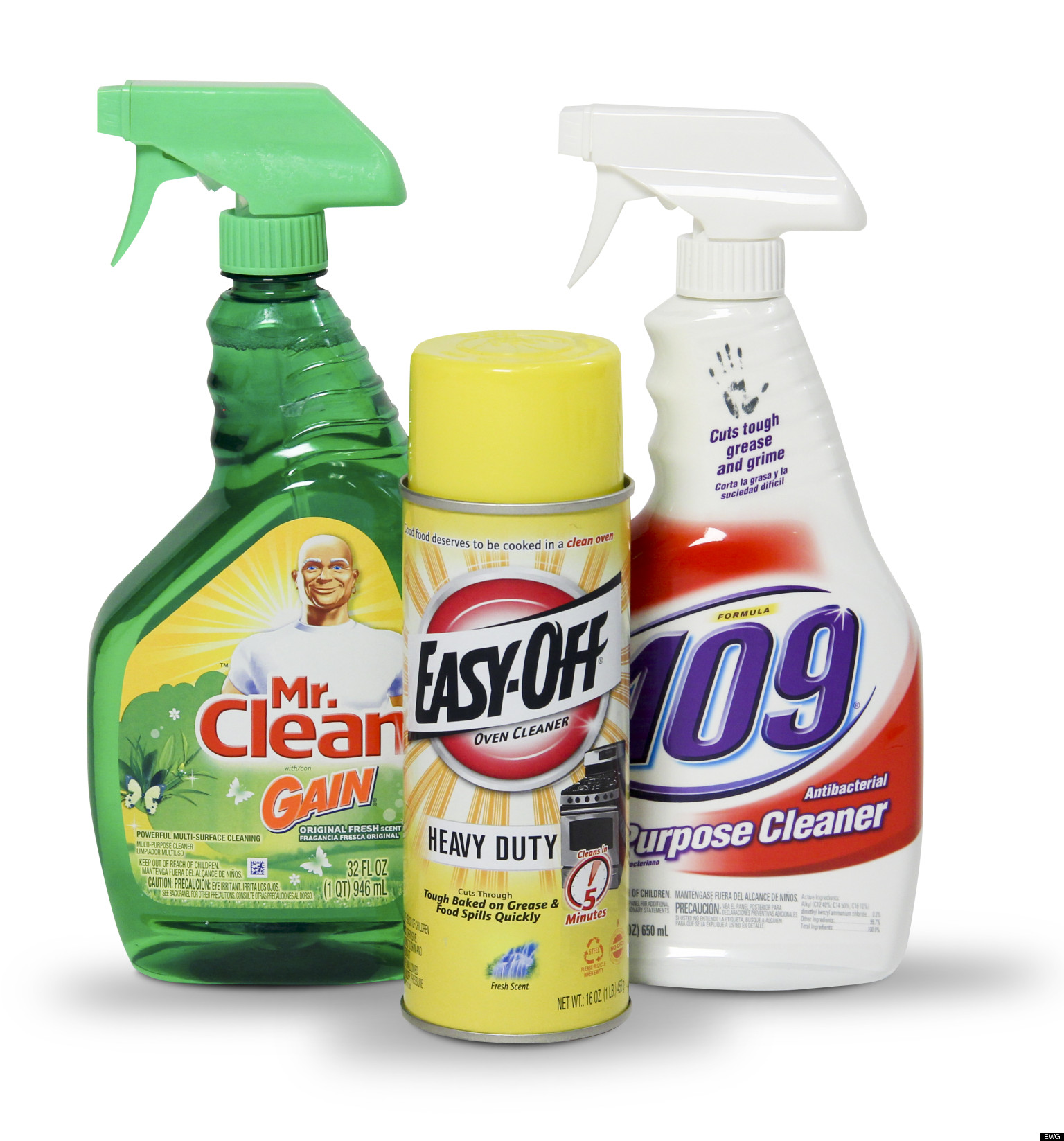 Worst Cleaners: EWG's List Of Most Harmful Cleaning