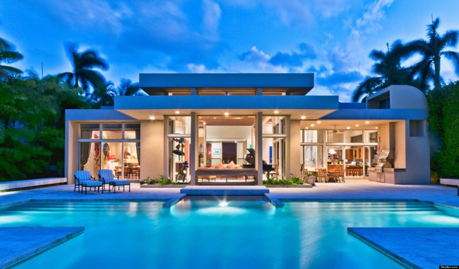 Nice houses on the beach - The 10 Most Expensive Homes On Miami Beach S Sunset Islands The Huffington Post