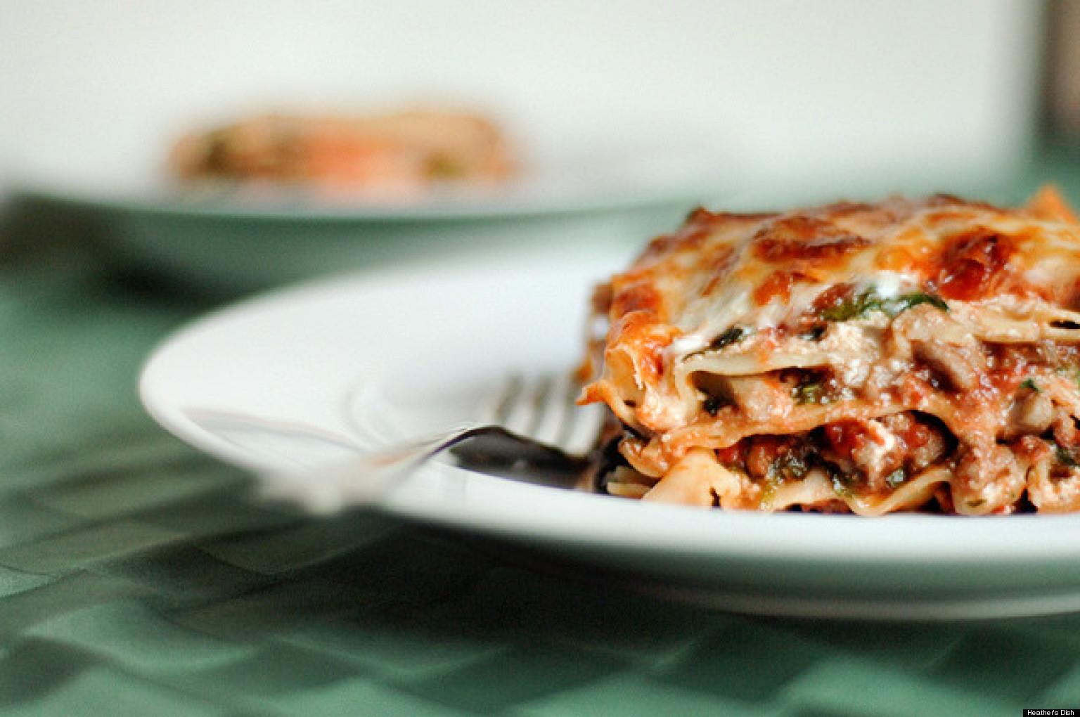 Healthy recipes lasagna