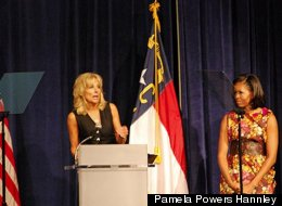 Video: Michelle Obama Gets DNC Women's Caucus 'Fired Up And Ready To Go'