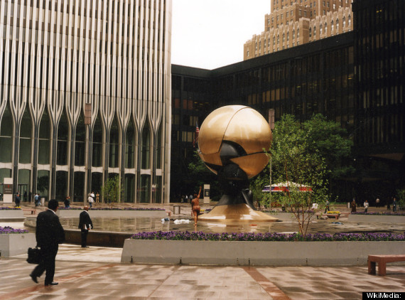 world trade center sphere