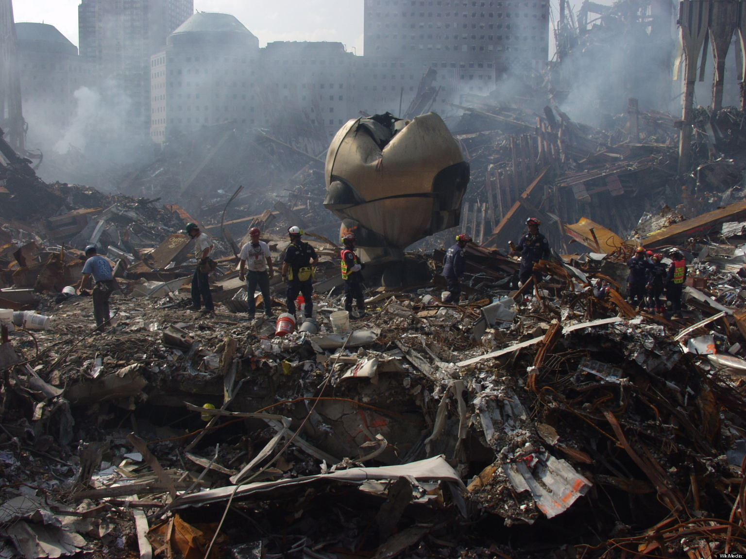World Trade Center Sphere: Sculpture That Survived 9/11 ...