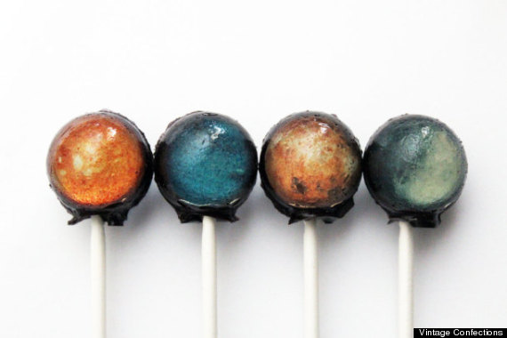 solar system lollipop
