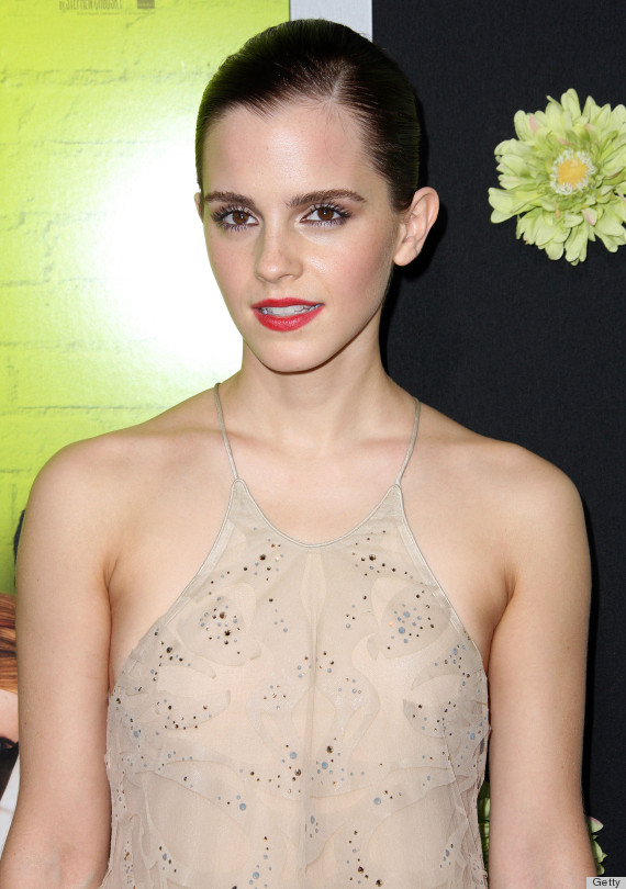 Emma Watson Wardrobe Malfunction: Actress Suffers From Too-Low Cut ...