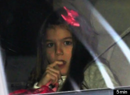 Suri Cruise First Day School
