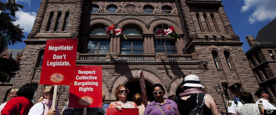 ONTARIO TEACHERS BILL PASSED