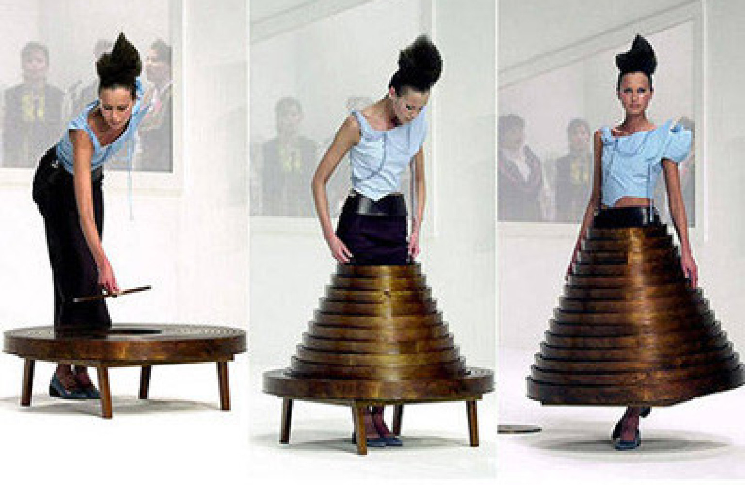 Mercedes benz fashion week 2012 home inspiration featured for Dressing a coffee table