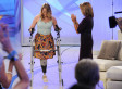 Katie Couric Hosts Aimee Copeland Who Suffered From Flesh-Eating Bacteria