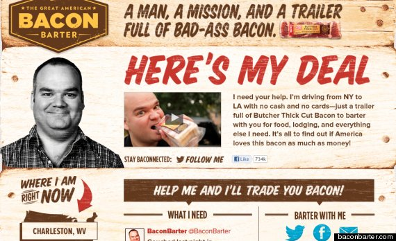 bacon barter oscar mayer josh sankey