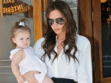 Harper Beckham Perfects Her Best Posh Pout...