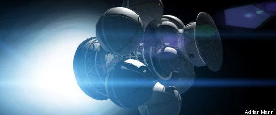 FUSION ANTIMATTER SPACESHIP