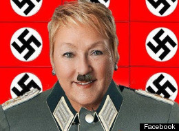 Pauline Marois Hitler Photo