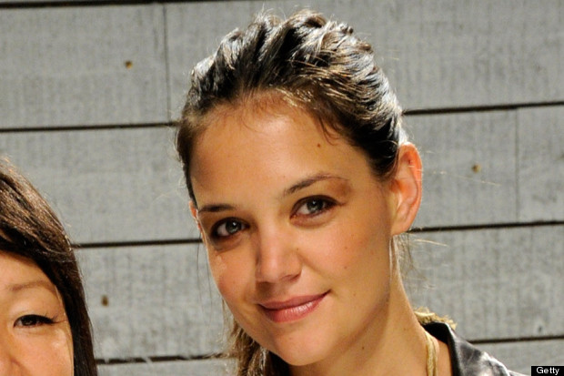 katie holmes new york fashion week