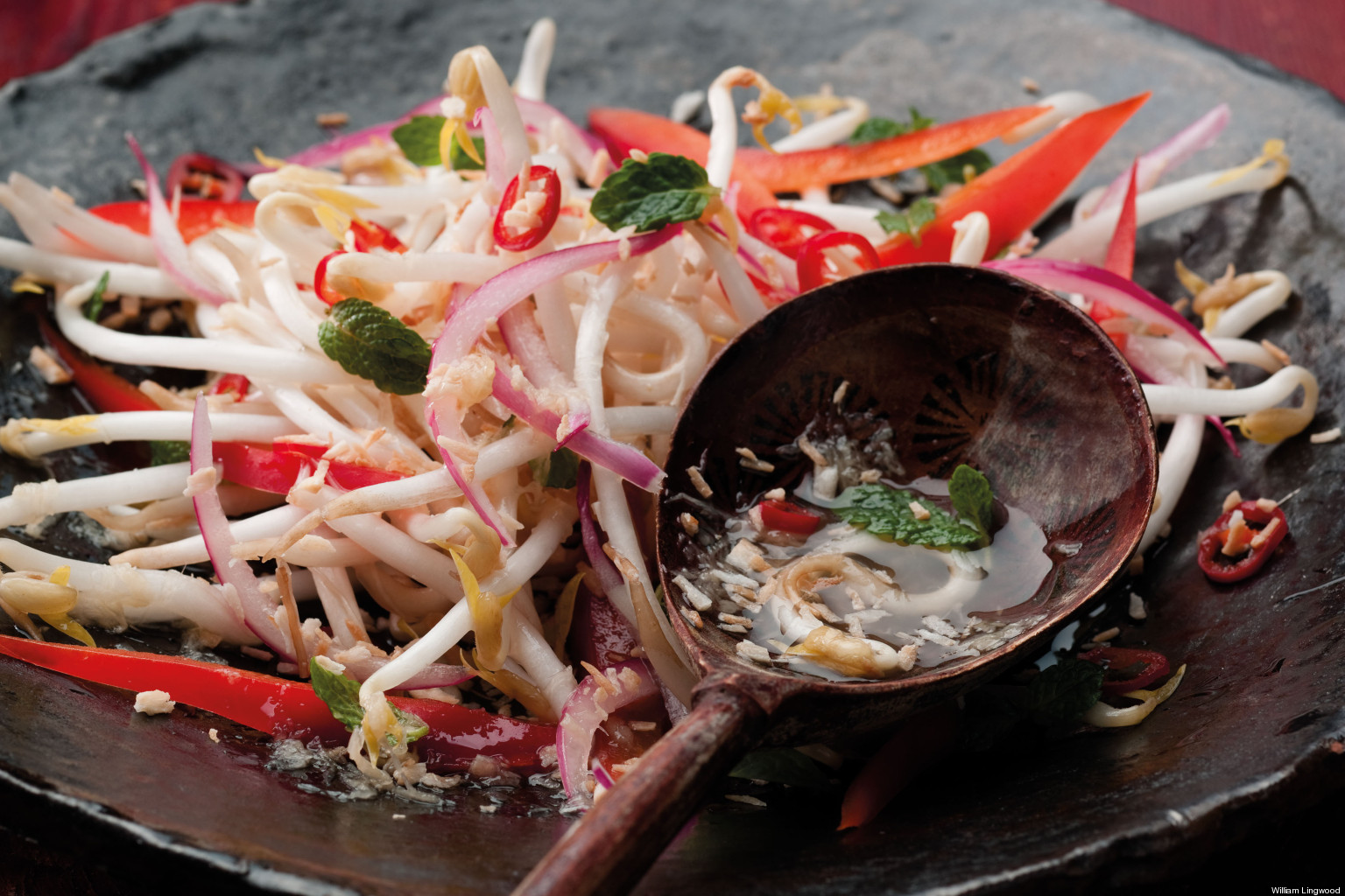 Malaysian Coconut And Chili Kerabu Salad | HuffPost