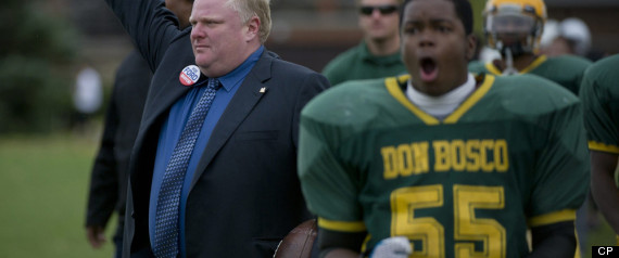 Rob Ford Football Staff