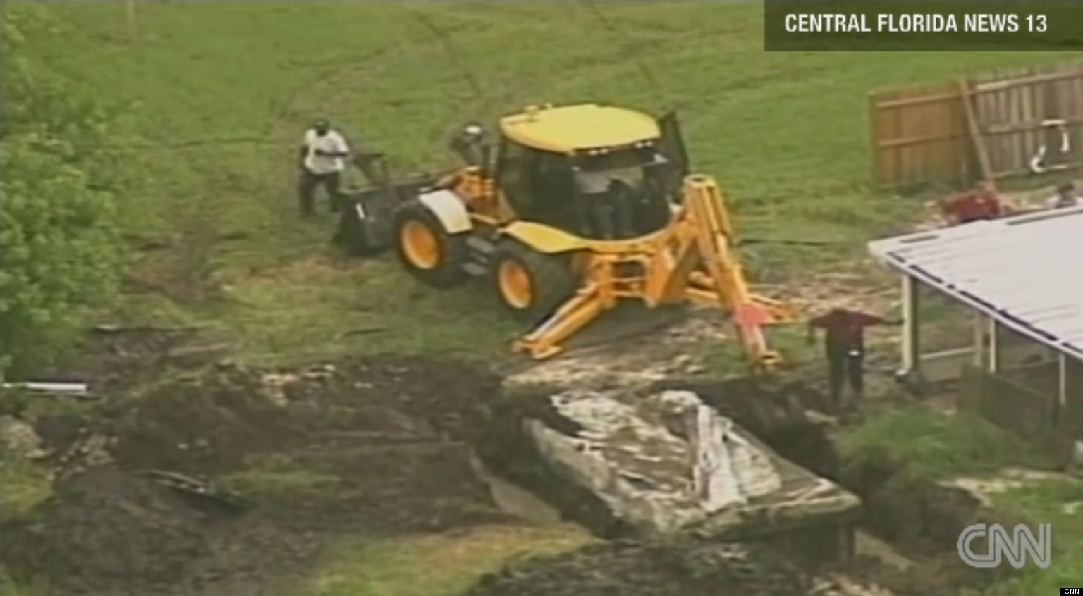 Trailer Food Truck Found Buried In Florida
