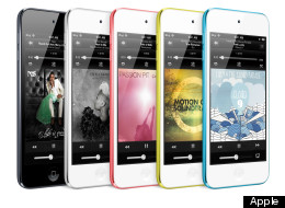 Apple Trots Out Redesigned iPods